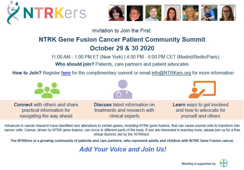image for View Advocacy Recordings from the First NTRK Community Summit